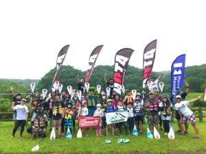 outside TOUR × Coleman『outdoor三昧(ウオータートレッキング&SUP)』開催決定!!
